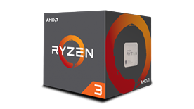 AMD RYZEN 3 1200 3.1GHZ 8MB AM4 (65W)