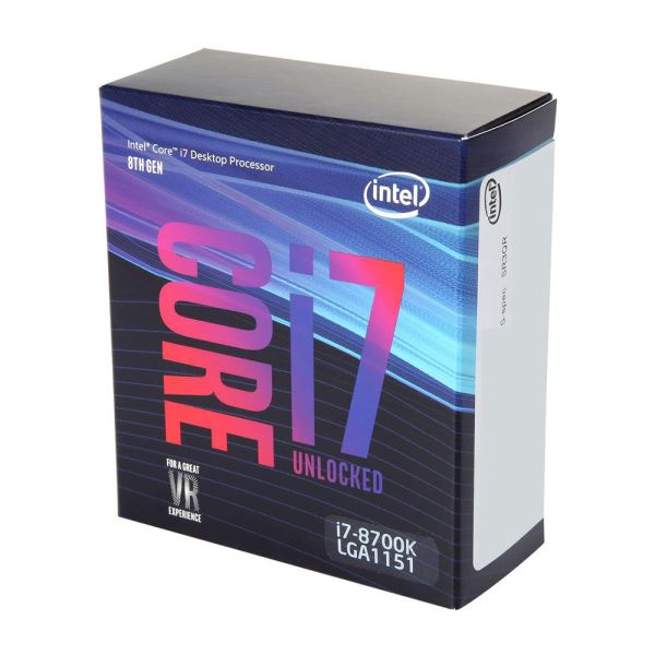 INTEL COFFEELAKE CORE I7 8700K 3.7GHz 11...