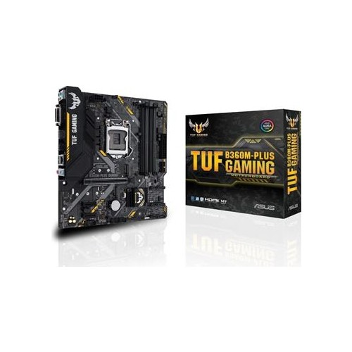 Asus TUF B360M-PLUS Gaming LGA1151P8 DDR...