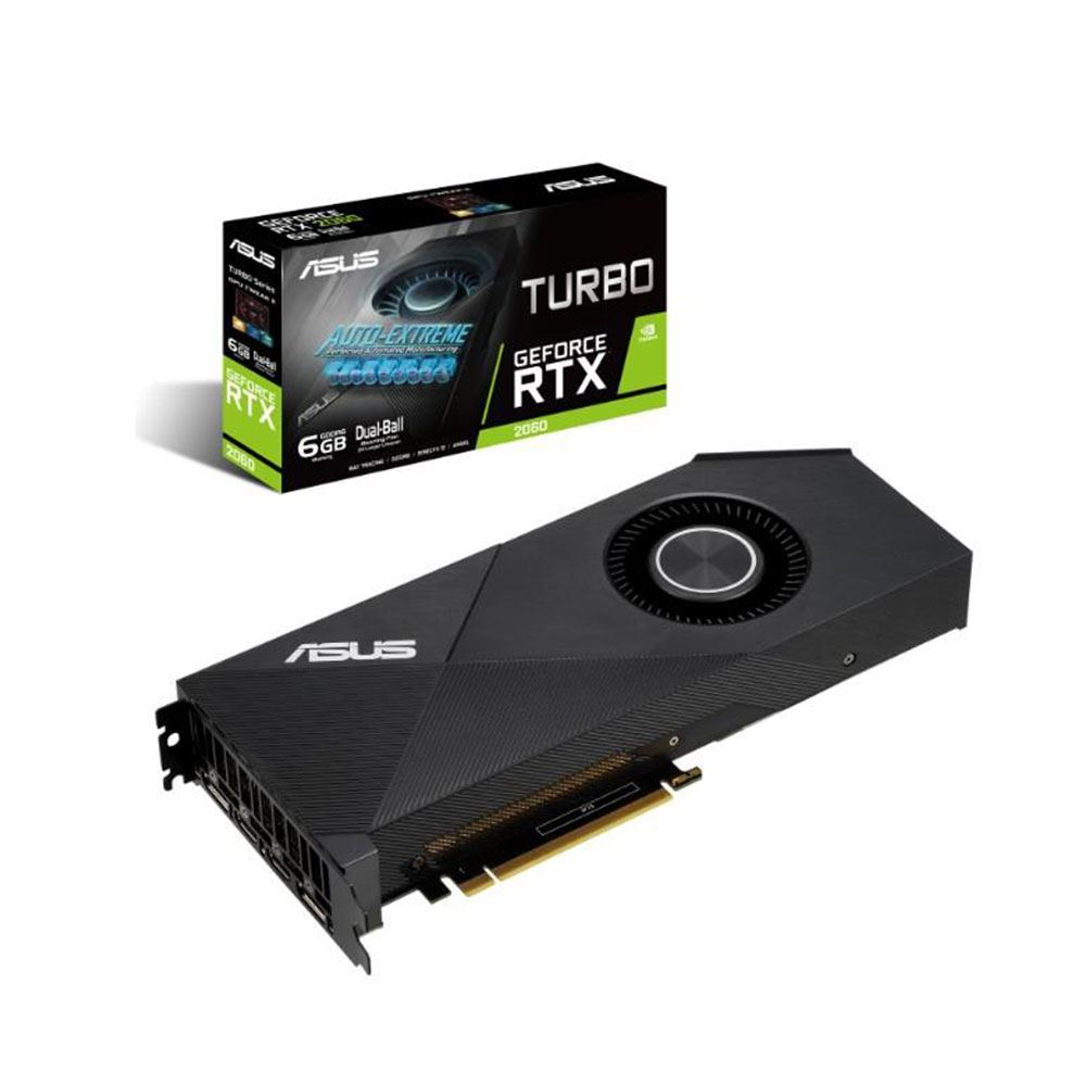 Asus TURBO-RTX2060-6G GAMING 6GB 192Bit ...