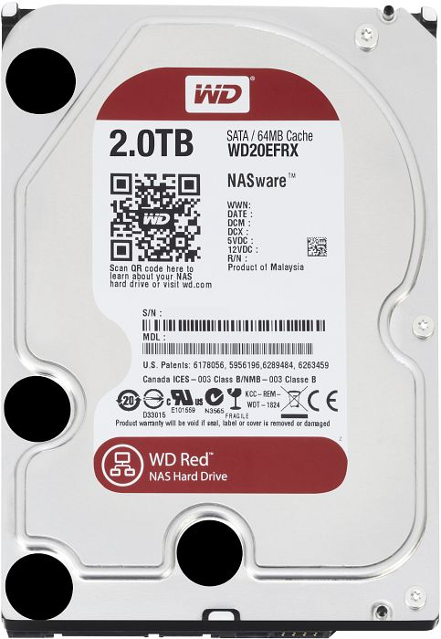 WD 2TB RED 3,5