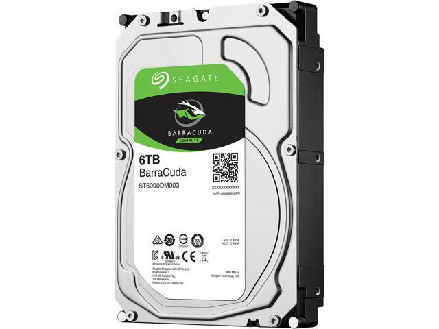 Seagate Barracuda 3.5 6TB 5400Rpm 256Mb ...
