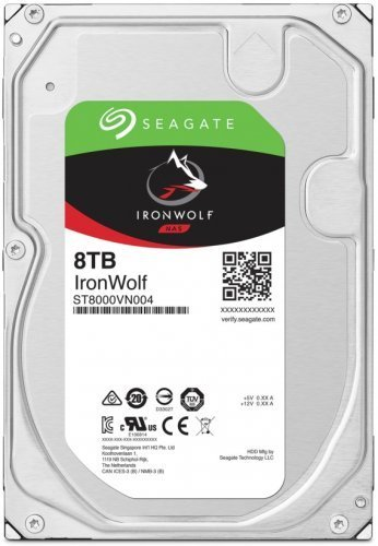 Seagate 8TB Ironwolf ST8000VN004 256MB 7...
