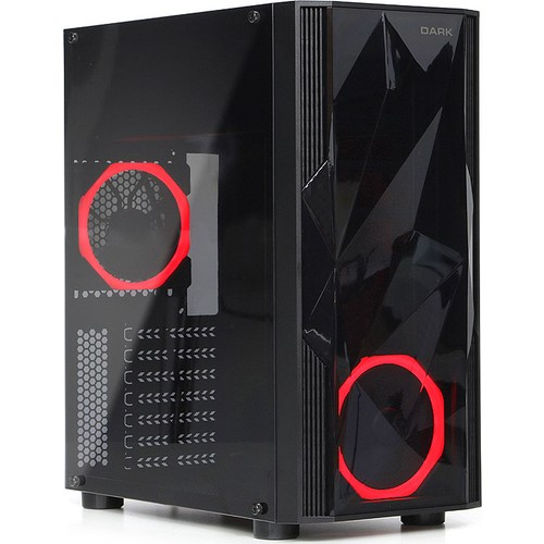 Dark Diamond 500W 2x12cm Fan, 1x USB3.0,...