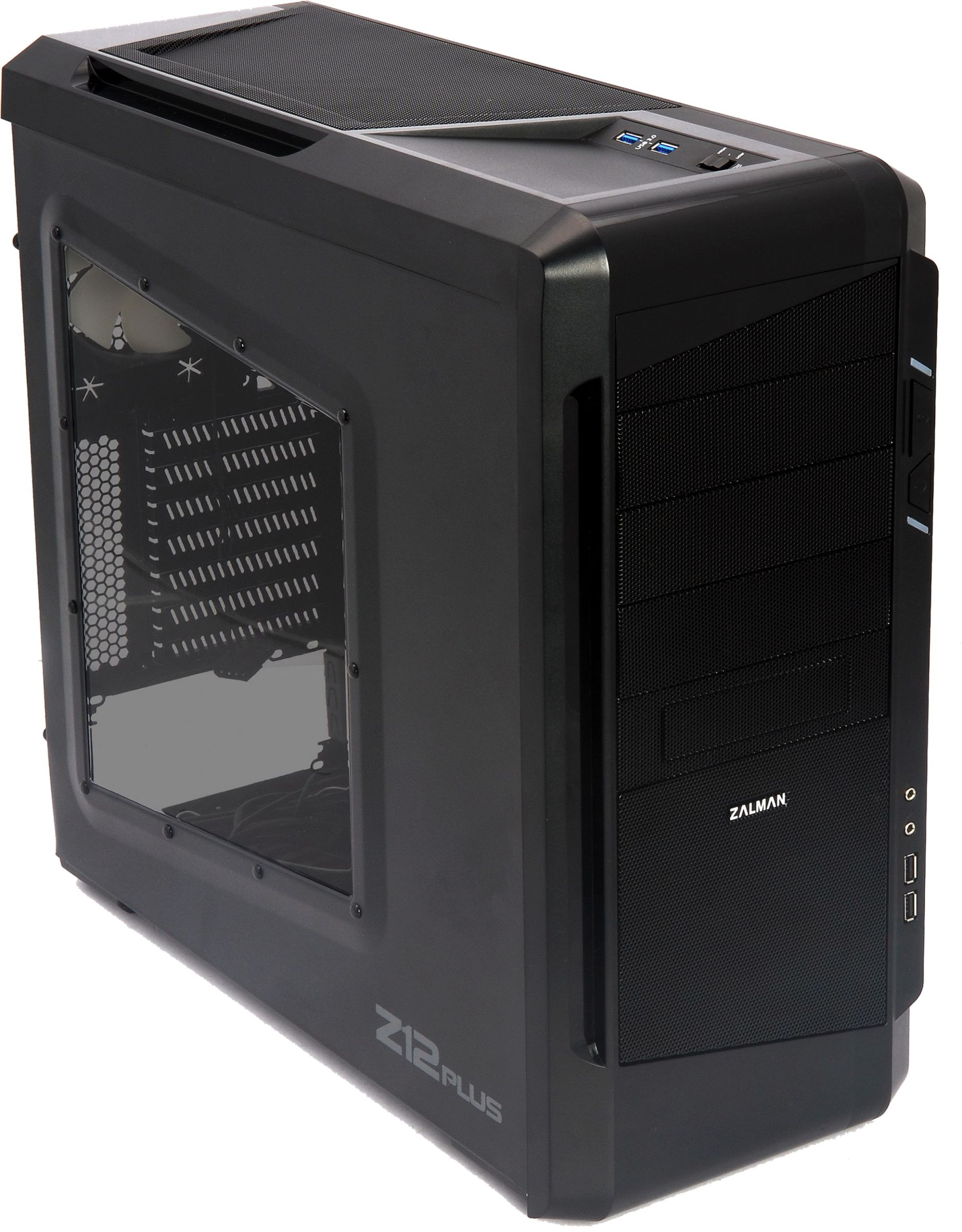Zalman Z11 Plus ATX Mid Tower Kasa Psu Y...
