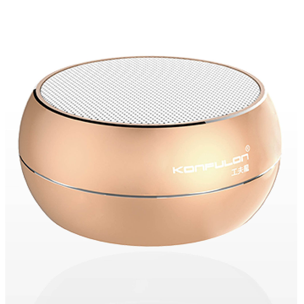 Konfulon K8 Bluetooth Hoparlör Gold